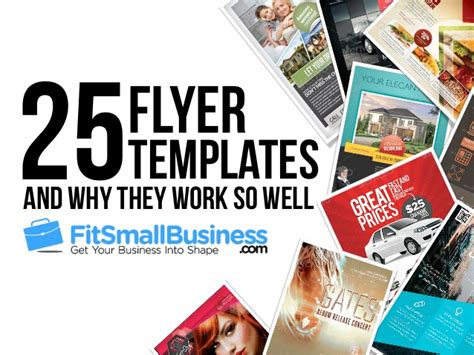 top 25 flyer templates for small businesses