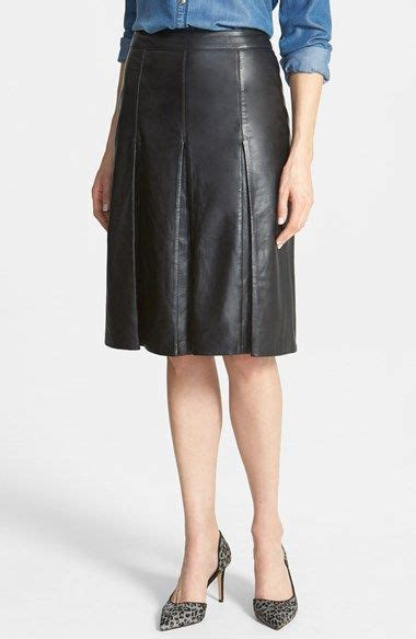 midi a skirts box pleated collection 2015 16 5