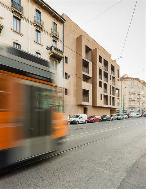 modourbano aligns p17 apartments with milan s urban fabric