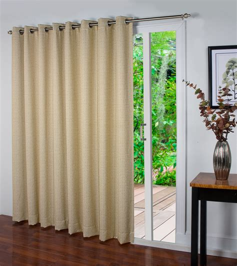 patio curtain panel spanish steps insulated grommet patio panel