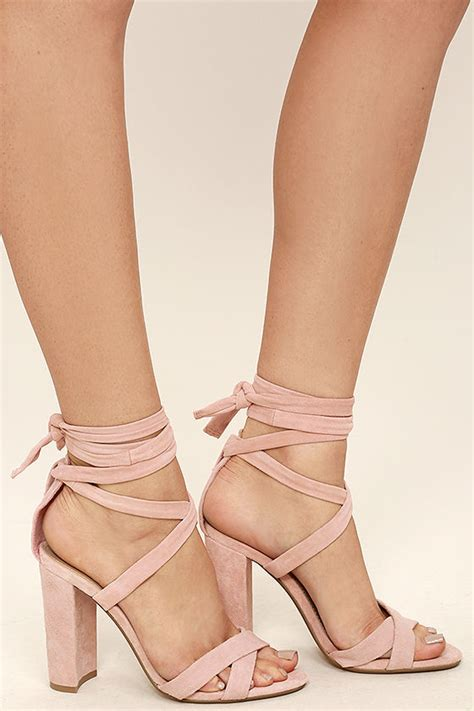 light pink lace up heels steve madden christey pink heels lace up heels 109 00
