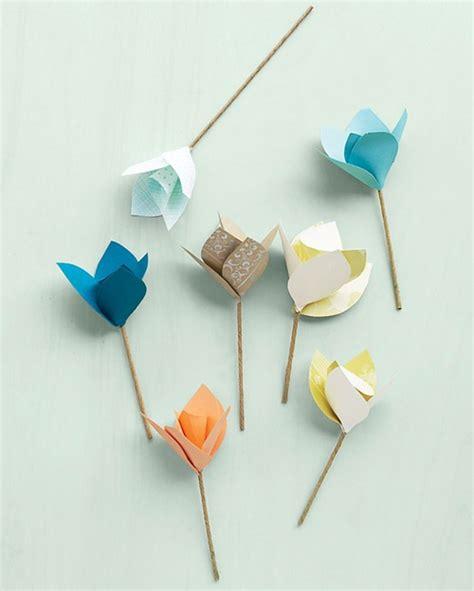 paper flower tutorial tulips jennys hus