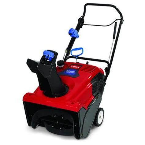 toro power clear 621qze single stage snow blower 21 inch