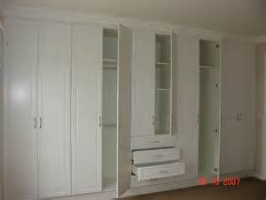 White Bedroom Cupboards Open White Melamine Bic Nico S Kitchens