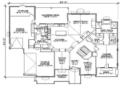 5 bedroom 3 bathroom house plans 2647 square 5 bedrooms 3 189 batrooms 3 parking space on 1 levels house plan 2649 all
