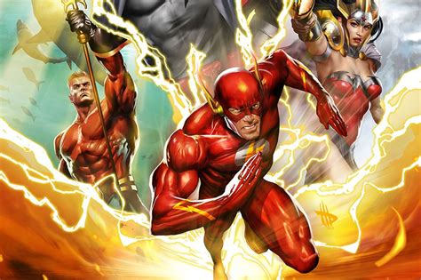 flashpoint review geeknation review justice league the flashpoint paradox