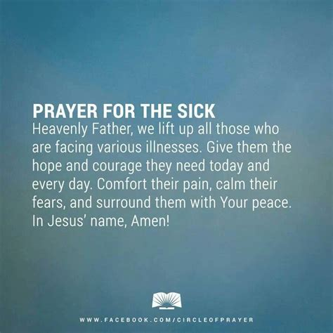 words of comfort for the sick and dying a prayer for family and friends his peace is with us