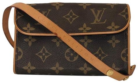 louis vuitton pochette florentine xs monogram bum brown