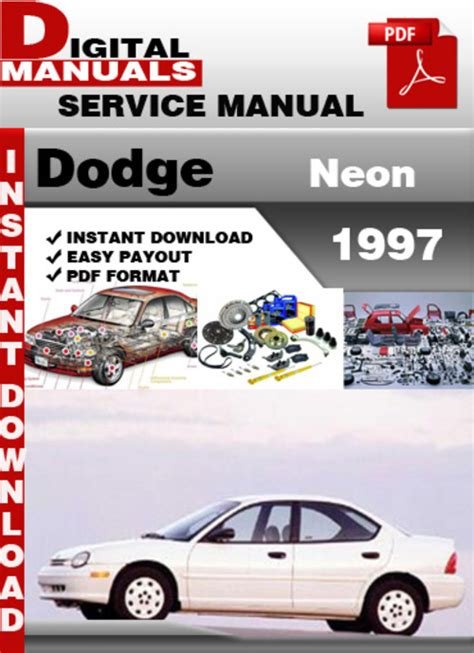 motor repair manual 1984 mitsubishi tredia electronic throttle control download car manuals 1997 plymouth neon instrument cluster dodge neon 1997 workshop repair manual