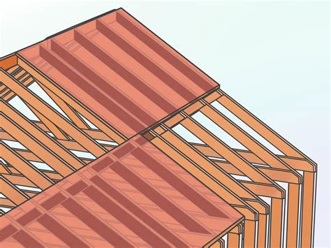 Saltbox Style Home how to frame a roof with pictures wikihow