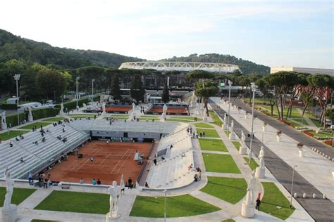 the in rome in the masters of rome court central masters 1000 rome sport soci 233 t 233