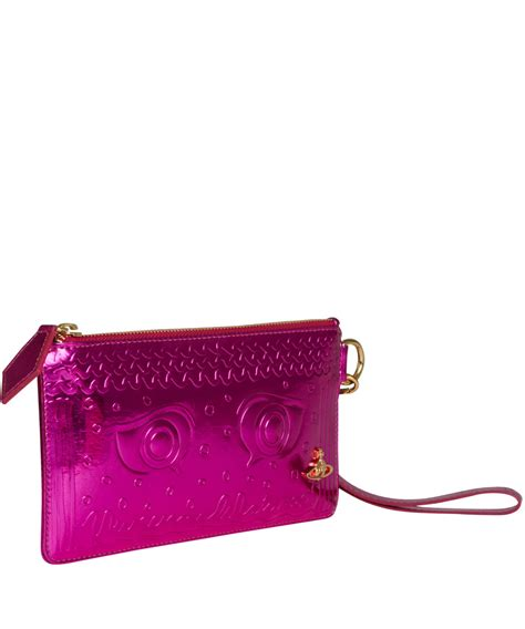 Vivienne Westwood Empire Purse by Lyst Vivienne Westwood Metallic Pink Purse In