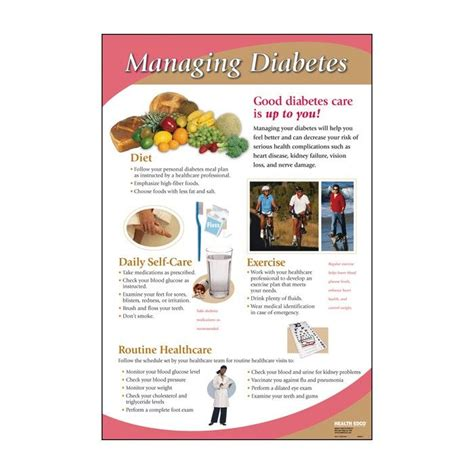 managing diabetes chart wwwhealthedcocom diabetes type