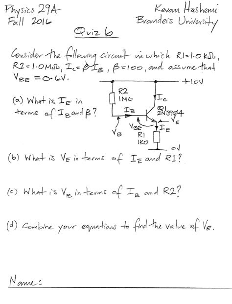transistor quiz questions transistor quiz questions 28 images current source question about transistor matching