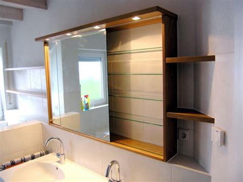 spiegelschrank diy badezimmer spiegelschrank mit beleuchtung sch 246 ne ideen