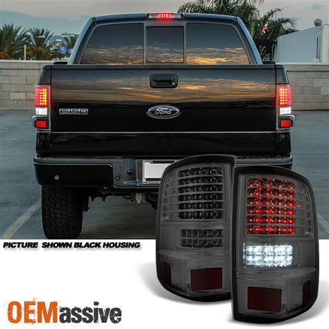 2006 ford f150 brake light on dash 2004 2005 2006 2007 2008 ford f150 full led smoked tail