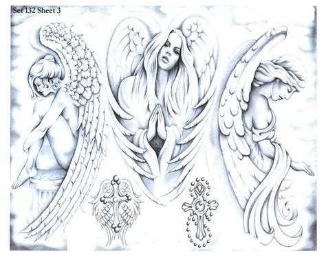tattoo flash of angels download jenny clarke angels and religious tattoo flash