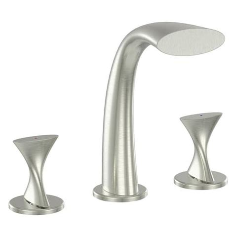 Modern Meets Copper Faucet adelais roman tub faucet in brushed nickel italia