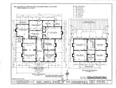 civil floor plan floor plan of the white house of the confederacy