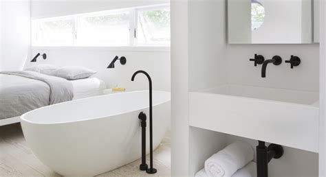 Kitchen Design Grey why black tapware is in the trend taps and more blog