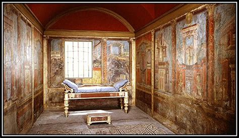 Ancient Interior by The Frescoes Of Pompeii Interior Decoration In Ancient