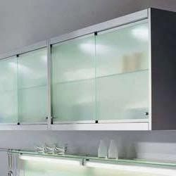 sliding kitchen cabinet doors need them clear and white