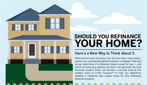 should you refinance your home real estate u