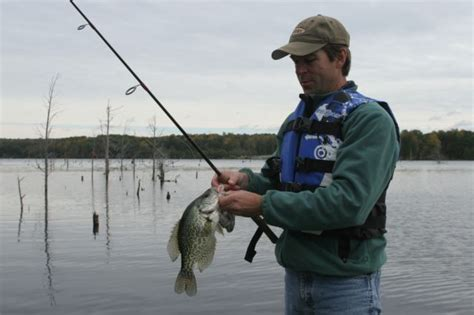 tactics  fall crappie fishing game fish