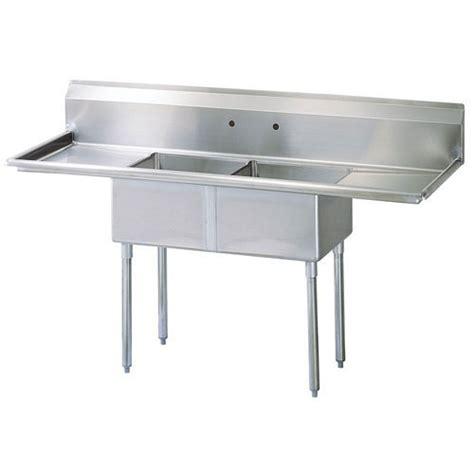 sink air buy turbo air tsa 2 d1 2 compartment sink w