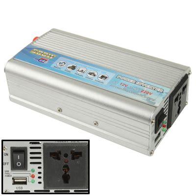 Promo Terbaru Power Inverter 1000w Dc 12v To Ac 220v 1000 Watt sunsky 500w dc 12v to ac 220v car power inverter with usb port silver