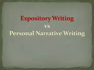 Personal Expository Essay by Narrative Or Expository