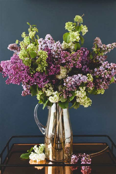 simple statement making lilac bouquet diy jojotastic