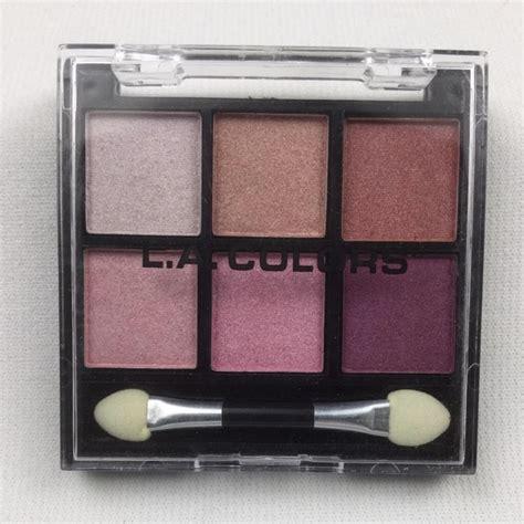 la colors l a colors 6 color eye shadow palette