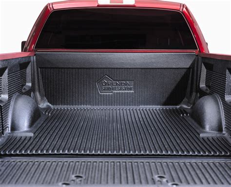custom drop in skid resistor truck bed liners by penda