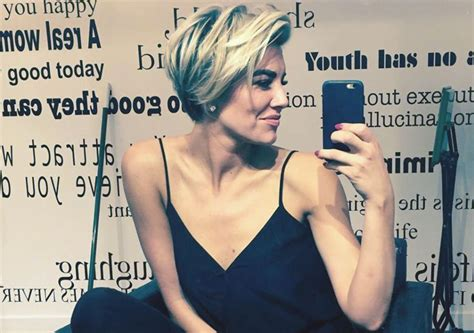 charissa thompson new haircut on extra tv charissa thompson pixie cut newhairstylesformen2014 com