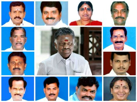 Cabinet Ministers In Tamilnadu by