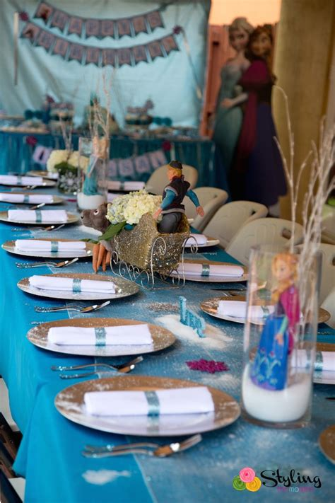 frozen themed party entertainment kara s party ideas frozen themed snowball in summer