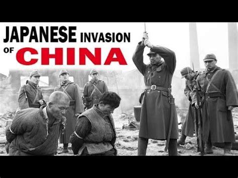 film china vs japan ww2 japanese invasion of china the second sino