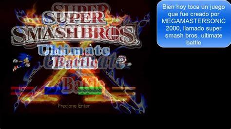 smash bros fan games zona fan super games super smash bros ultimate battle demo