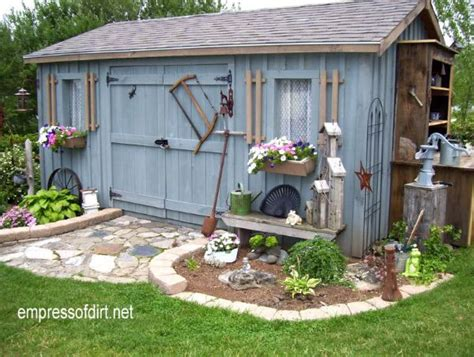 outdoor shed ideas charming garden sheds from rustic to modern empress of dirt