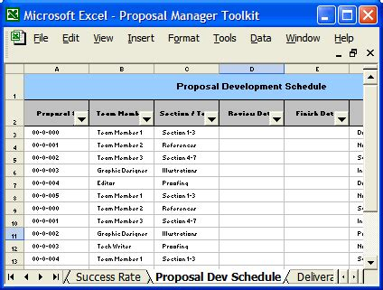 Proposal Forms And Checklists Download Ms Word And Excel Templates Bid Analysis Template Excel