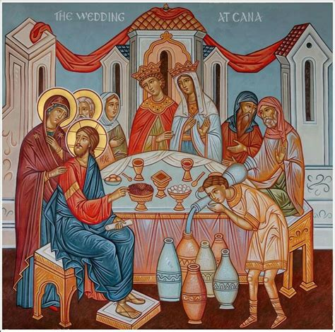 Wedding At Cana Orthodox Icon by 62 Best The Board To Cana Images On Orthodox