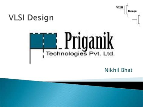 vlsi layout design basics summer internship industrial training in vlsi design