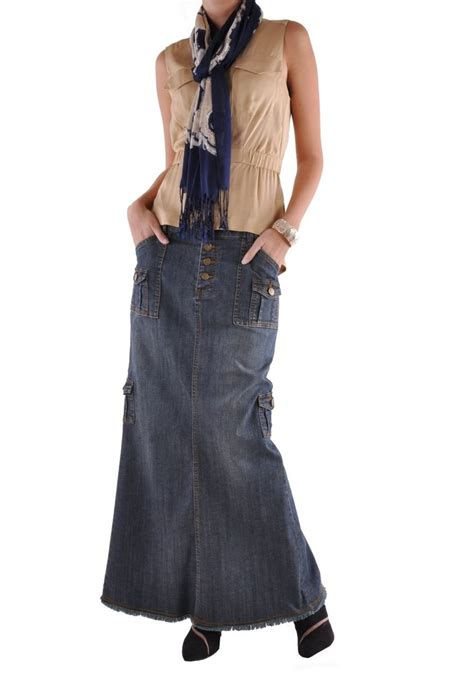 charming cargo denim skirt re 0519 style j