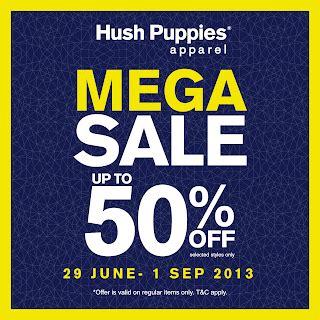 Baju Hush Puppies Ori Sale 320 freebies malaysia promotion hush puppies 50