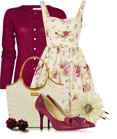 flower dresses and shoes 20 floral polyvore