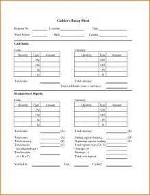Drawer Balance Sheet Template by Doc 8431080 Reconciliation Sheet Template Balance