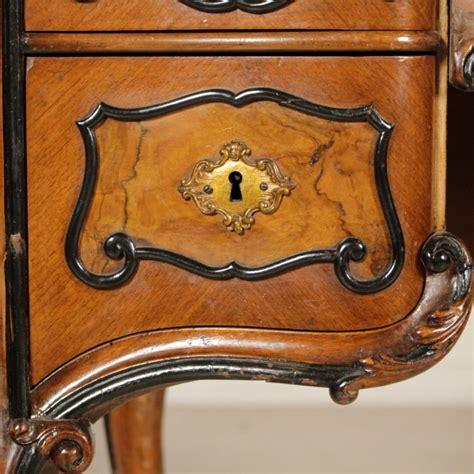 scrivania in stile scrivania in stile barocchetto mobili in stile bottega