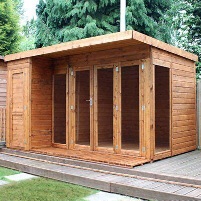 combi garden room shiplap timber summerhouse store