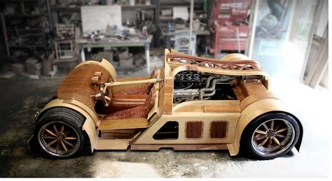 Auto Aus Holz by Meet The Splinter The Wood Composite Car Motorchase